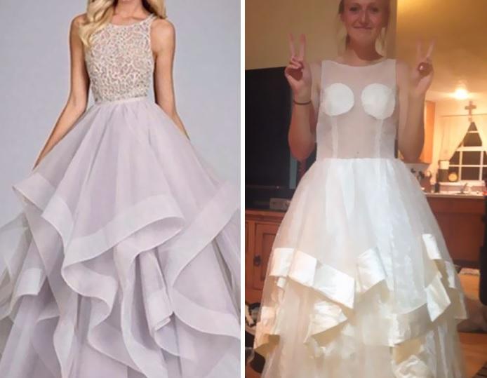 8446c6ae4f5 И грешката им струва не малко, защото става въпрос за балната им рокля.  Вижте няколко епични провала в онлайн пазаруването, подбрани от Bored Panda: